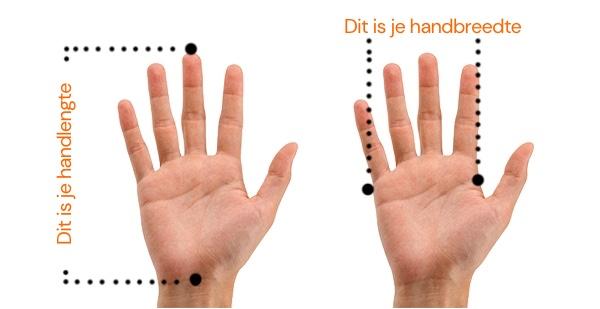 hand opmeten
